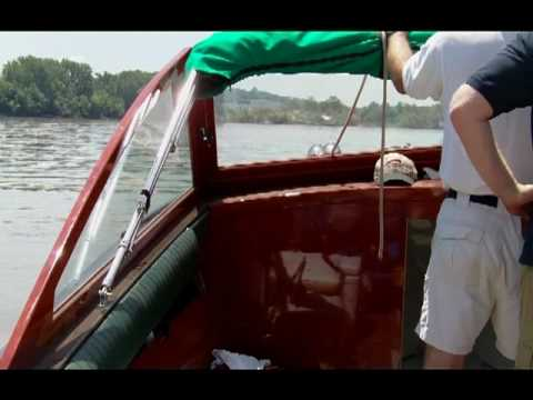 Water Test of a 2008 26' Grand Craft from Antique Boat Center