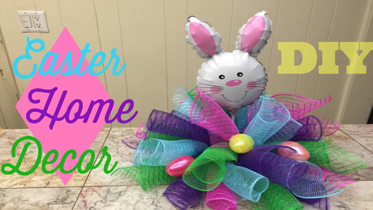 Dollar Tree Easter Home Decor Diy Youtube