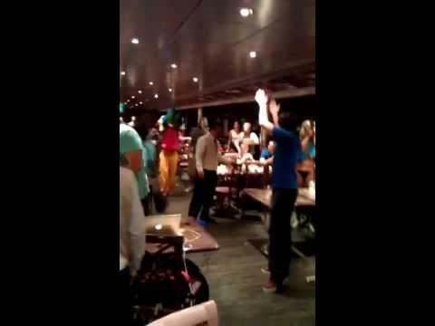 Holy Ship 2012: Improptu Rave in Cafeteria