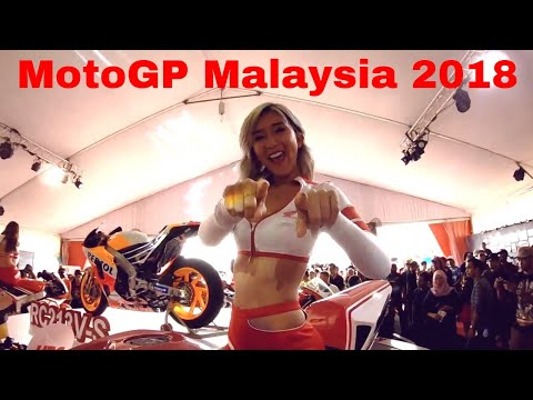 MotoGPMalaysia 2018 behind the scenes - Pit lane | VIP Village | Grid Girls