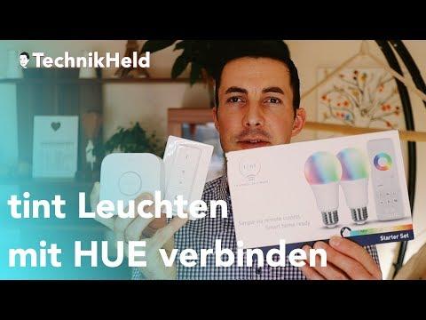 Tint Led Leuchten Mit Philips Hue Verbinden Anleitung Deutsch Youtube