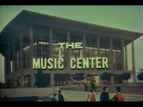 The Music Center Archival Film