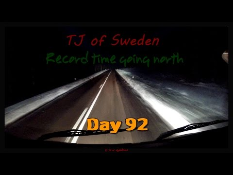 Record time going north - Day 92 - Tanker Trucking