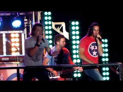 Jake Owen w/ FL GA Line -  Summer Jam - Riverbend 2013