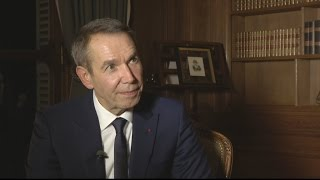 Jeff Koons  'I want to give hope to surviving family members after Paris attacks'