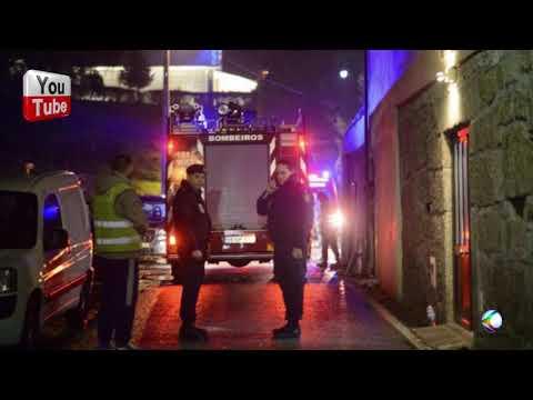 GR - NOTICIA ncêndio em Tondela. Pelo menos quatro vítimas correm risco de vida em Portugal.