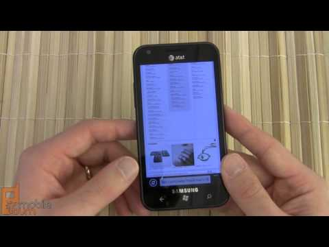 Samsung Focus S (AT&T) Windows Phone 7.5 smartphone review