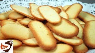 Lingue di gatto, biscotti veloci - Dolci facili