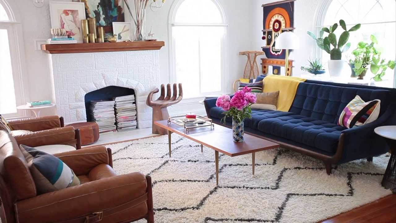 How to choose the perfect rug size youtube for Choosing furniture for a small living room