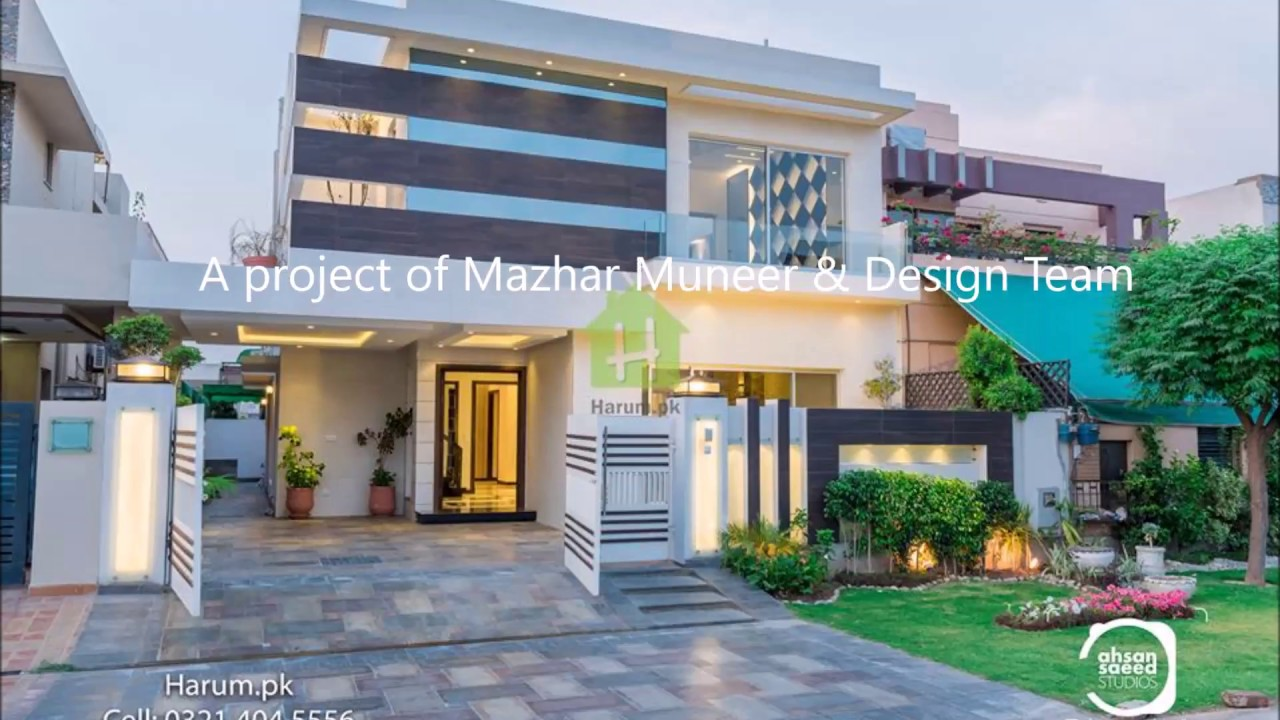 Modern House Design 10 Marla House Youtube