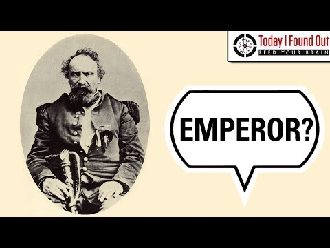 The Forgotten Emperor of the United States and Protector of Mexico, Norton I