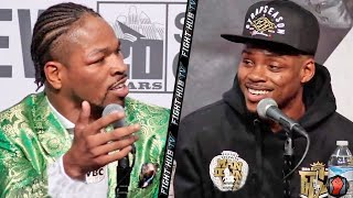 HEATED! ERROL SPENCE & SHAWN PORTER GO AT IT AT POST FIGHT PRESS CONFERENCE - FULL VIDEO