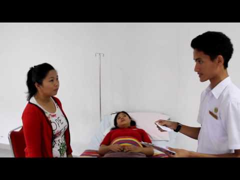 Simulations of Asking and Showing rooms in hospital (Module 2 of English Nursing 1)
