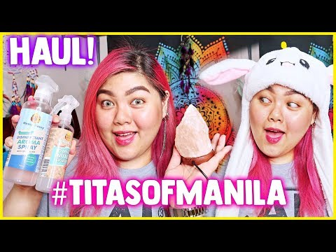 NEW ROOM DECOR + MGA PANG-TITAS OF MANILA HAUL! | Bing Castro