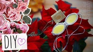 DIY: Духи в кулоне. Новогодний подарок для подруги своими руками! ♥ Anisia Beauty(Привет! Сегодня я расскажу вам, как можно сделать очень простой праздничный подарок для подруги - твердые..., 2015-12-18T06:00:00.000Z)