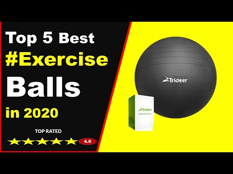 Top 5 Best Exercise Ball Workouts in 2020 (Buying Guide)