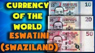 Currency of the world - Eswatini (Swaziland). Swazi lilangeni. Exchange rates Eswatini
