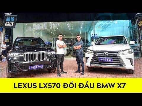 So sánh KHỦNG LONG Lexus LX570 9 tỷ và BMW X7 cần số pha lê 7 tỷ |Lexus LX570 vs BMW X7|