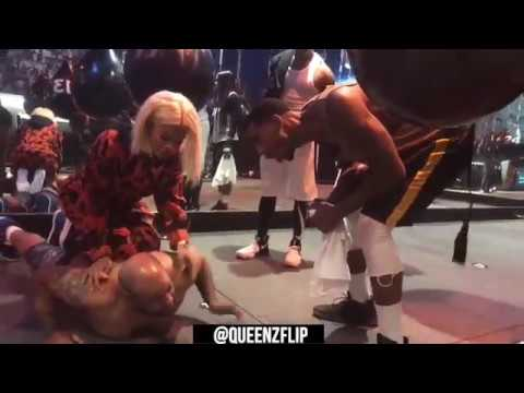 QUEENZFLIP - IMAN SHUMPERT & TEYANA TAYLOR PUTS QUEENZFLIP THROUGH A WORKOUT FROM HELL