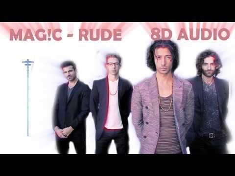 MAGIC! - Rude | 8D Audio || Dawn Of Music ||