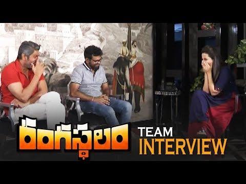 Rangasthalam Team Special Interview   Sukumar   Jagapati Babu   TFPC