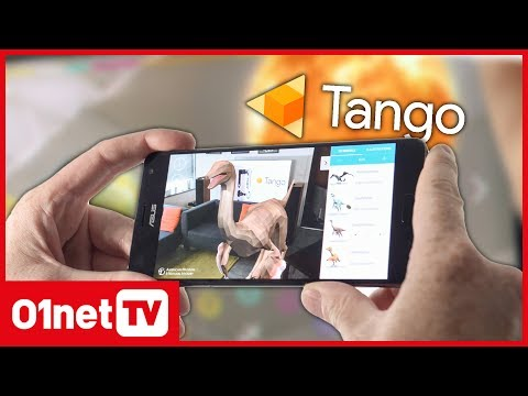 Google Tango : des applications ludiques mais limitées - Asus Zenfone AR