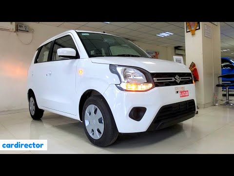 Maruti Suzuki WagonR VXi 2020 | BS6 WagonR 2020 VXi 1.2 AGS | Interior & Exterior | Real-life Review