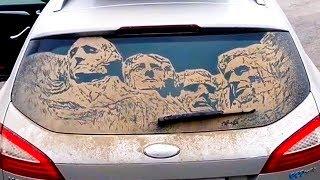 Un coche MUY sucio