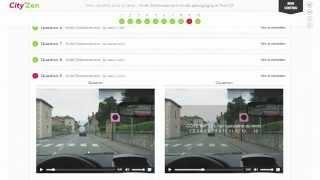 Code la route en ligne City'Zen: mode d'emploi