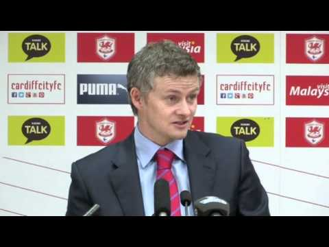 Cardiff's Ole Gunnar Solskjaer: 'We're aiming for the top 15' -- video