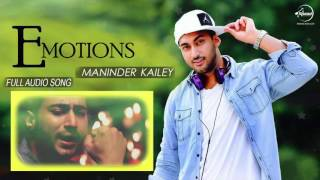 Emotions (Full Audio Song) | Maninder Kailey Ft Desi Routz | Punjabi Song Collection | Speed Records