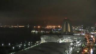 みなとみらいの窓【横浜港LIVE】(from port of Yokohama Japan)(720p)