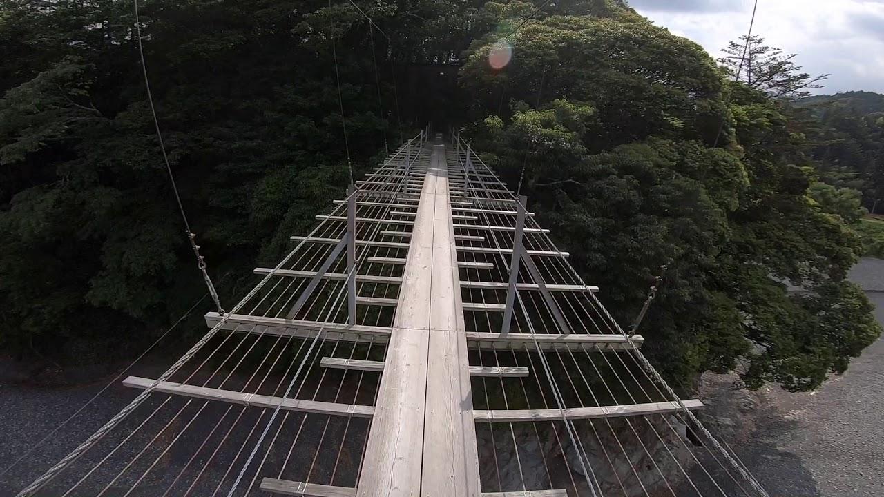 皆さんは、吊橋の中の吊橋、無想吊橋を知っているだろうか・・・