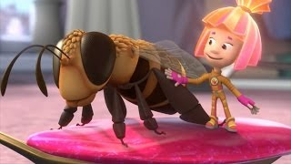 Фиксики - Пчела | Познавательные мультики про насекомых
