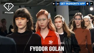 London Fashion Week Fall/WItner 2017-18 - Fyodor Golan Make Up | FTV.com