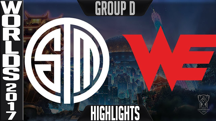 tsm vs we highlights s7 world championship 2017 group d day 3 game 1  team solomid vs team we