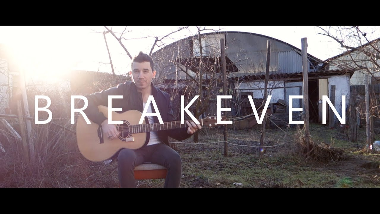 Breakeven The Script Fingerstyle Guitar Cover By Peter Gergely