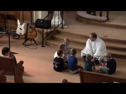 2019 05 26 Children's Sermon Getting Hold of Jesus
