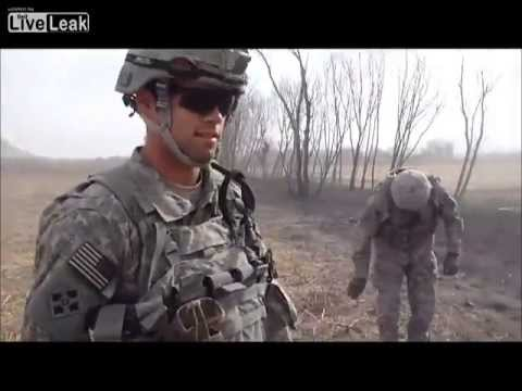 8 minutes with us army eod team explosions galore with apobs ied
