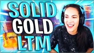 SOLO SOLID GOLD WIN | Fortnite Battle Royale | Alexia Raye