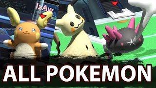 Smash Ultimate: All Pokémon