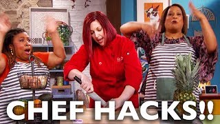 How To Slice Fruits And Vegetables Like A Chef • Me Time With Frangela