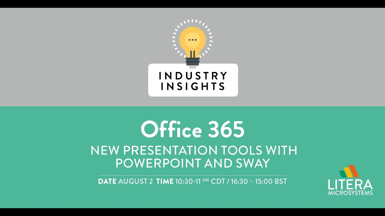 Office 365 - New Presentation Tools with PowerPoint and Sway
