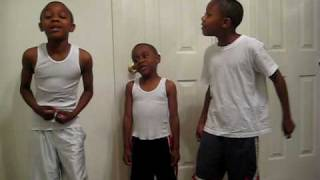 darius and demetrice  sing with jayden