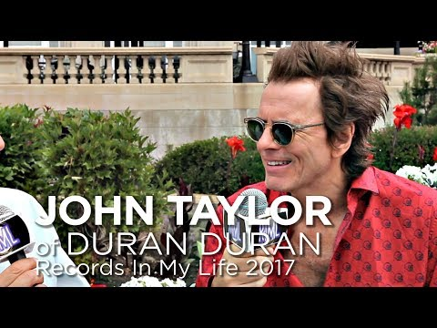 John Taylor of Duran Duran on Records In My Life 2017