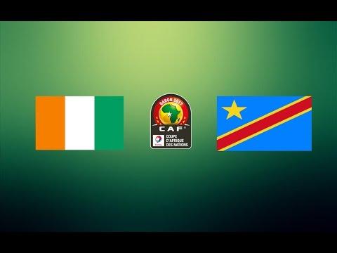 CAN TOTAL 2017 - CÔTE D'IVOIRE VS RÉPUBLIQUE DÉMOCRATIQUE DU CONGO ( GROUPE C )