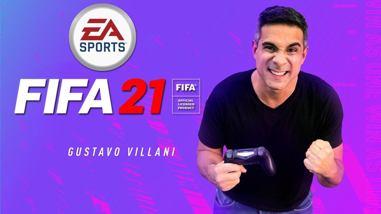 Veja como está a narração do Villani no FIFA 21!