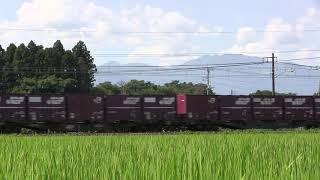 2018-08-01 3055列車 EH500-66 UR19A士別運送 積載