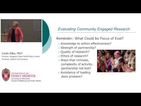2012 Slesinger Lecture: Linda Silka