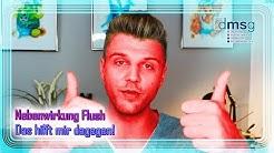 "Nebenwirkung ""Flush"" - was hilft mir?   Basistherapie bei MS   DMSG Reporter Kevin"